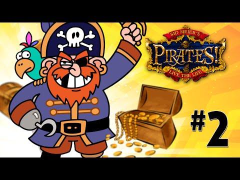 """Прохождение игры """"Sid Meier's Pirates"""" #2 Делим первую добычу"""