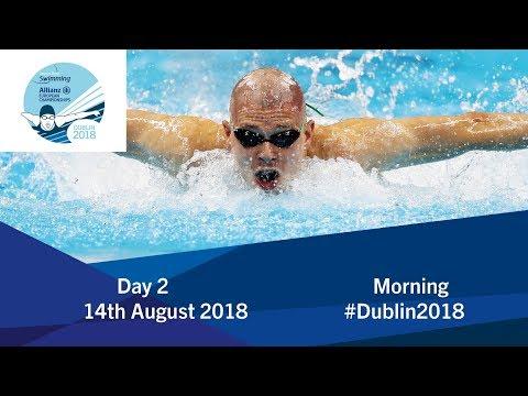 Day 2 Morning | 2018 World Para Swimming Allianz European Championships