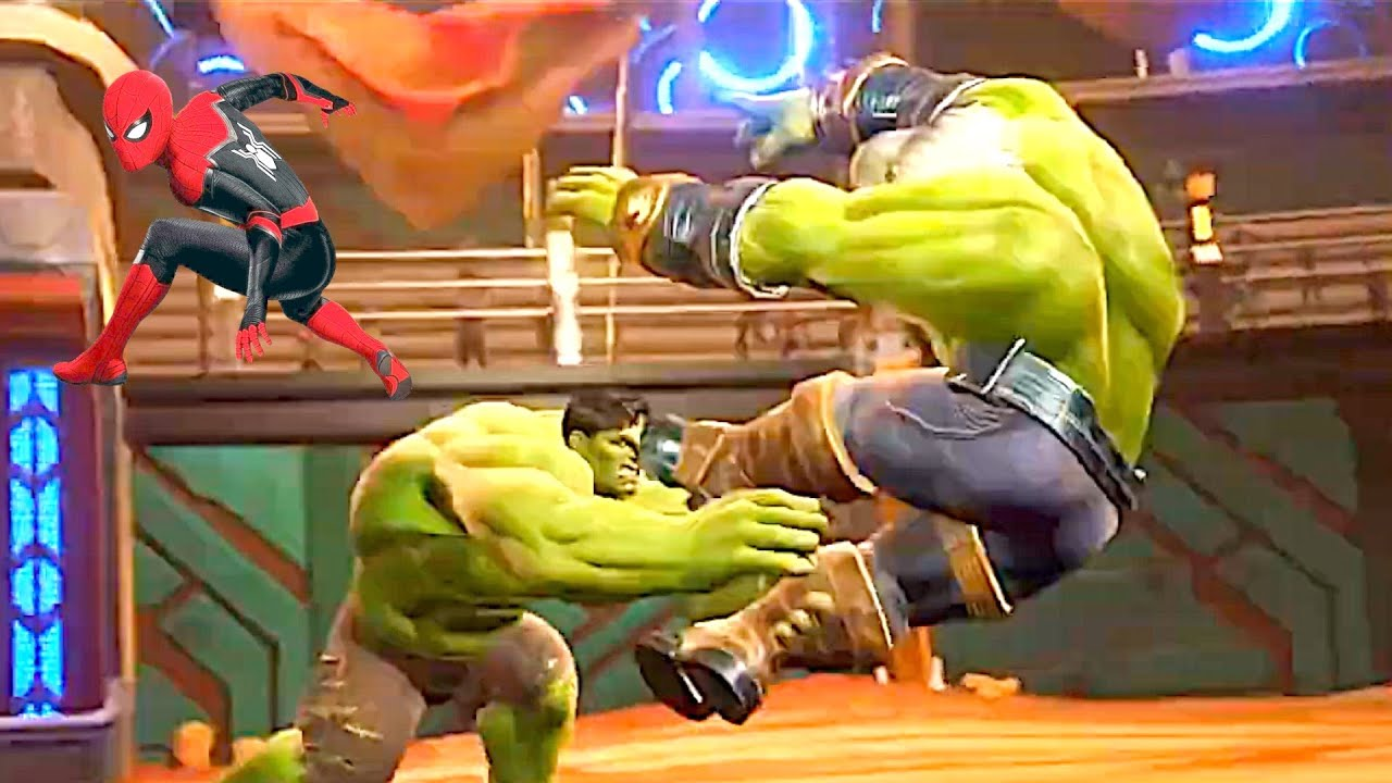 Valkyrie, Spider Man And Hulk Kill Maestro - New Marvel Avengers 2021