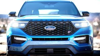 2020 Ford Explorer ST - Exterior Design Drive