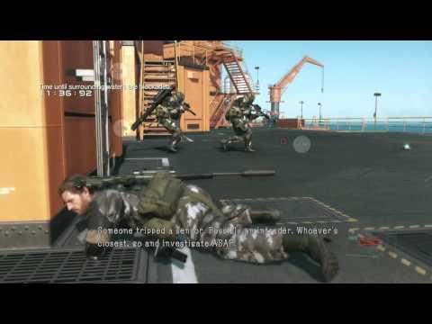 MGSV FOB Stealing some guys nuke