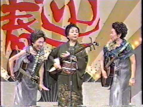 上方が誇る姉妹トリオ、かしまし娘のテレビ出演。