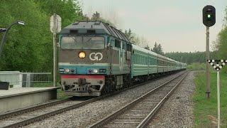 Тепловоз ТЭП70-0237 с спецпоездом на Казахстан TEP70-0237 With Special Train To Kazakhstan