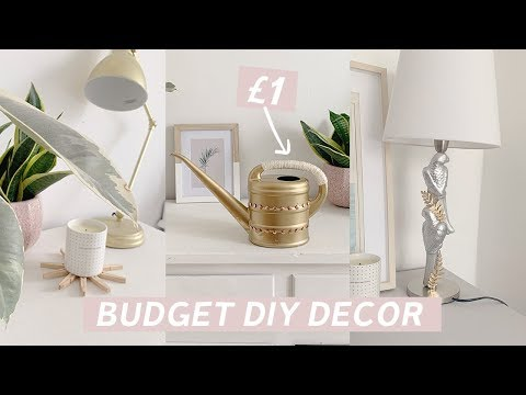 Home Decor Hacks on a Budget | Poundland DIY Challenge