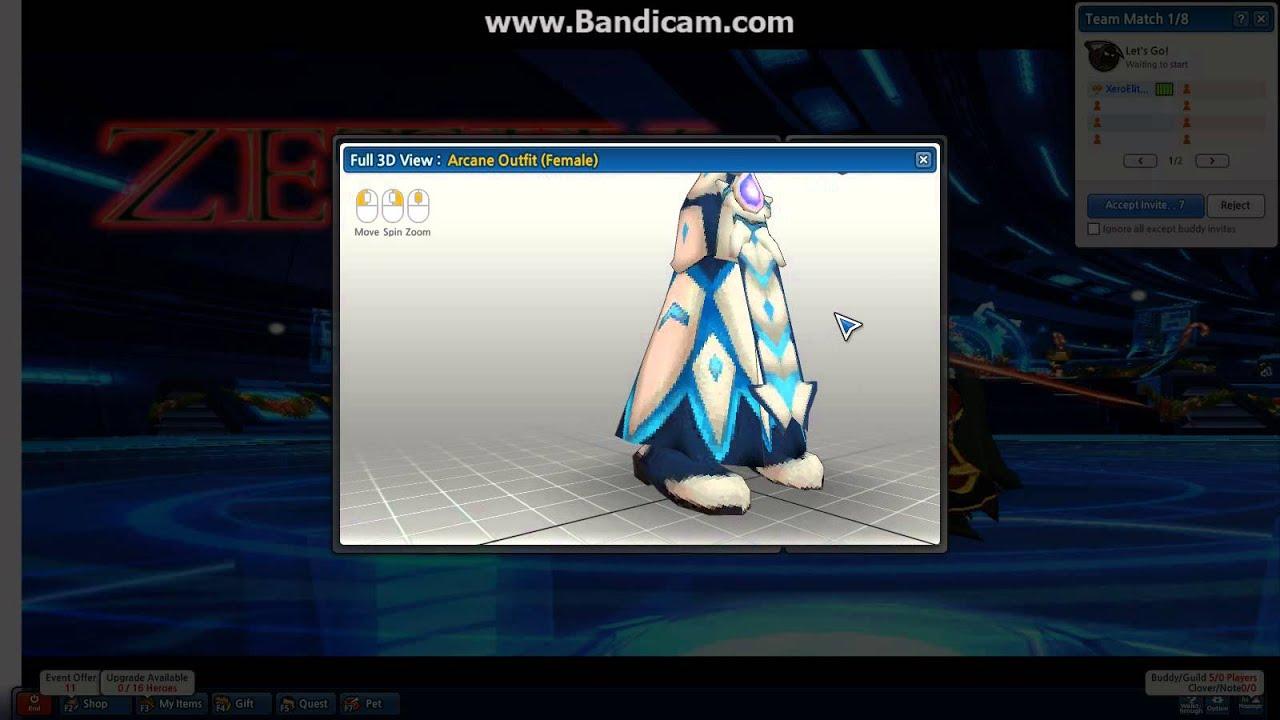 Lost Saga Destroyer Arcanist Robe Gear Design Deal - YouTube