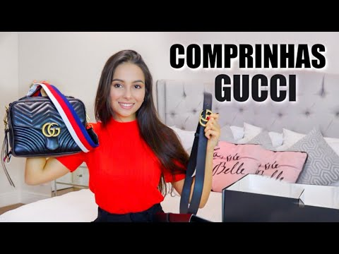 Unboxing - Bolsa GG Marmount Gucci | Stephanie Garcia