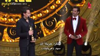 hrithik roshan and tiger shrof in iifa awards 2015