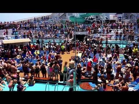 Pics For > Carnival Triumph Pool