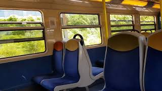 (RER D) ce train long mission ROVO a pour destination Corbeil-Esson...