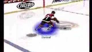 NHL Face Off 2000 Playstation - Gameplay footage Part 1 of 2