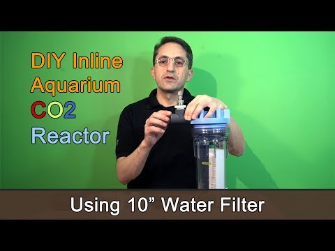 DIY Inline Aquarium CO2 Reactor