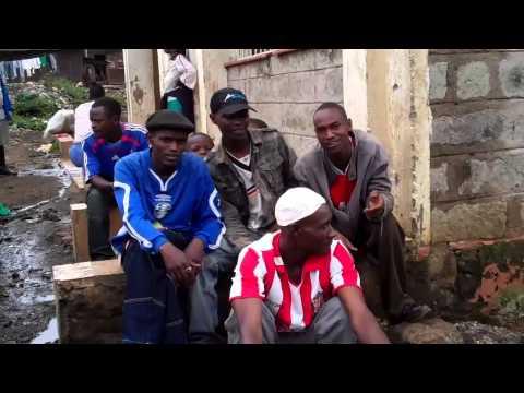 Young Men of Mathare Slum on Urban Ag tour