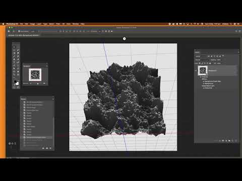 How to make a rocky texture (Photoshop tutorial) thumbnail