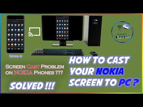 HOW TO CAST YOUR NOKIA 6 SCREEN TO PC EASY TUTORIAL | ENGLISH