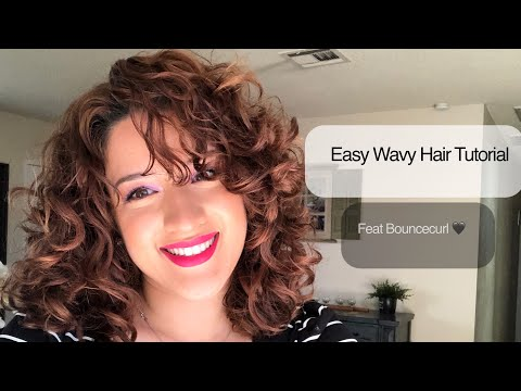 easy-curly-girl-method-tutorial-for-naturally-wavy-hair-|-bouncecurl-|-irene's-beauty-times