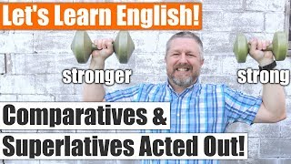 A Fun Way to Learn English Comparatives and Superlatives with Examples! Adjectives at Their Best!