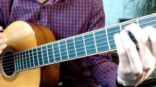 Как играть бой в стиле фламенко на гитаре