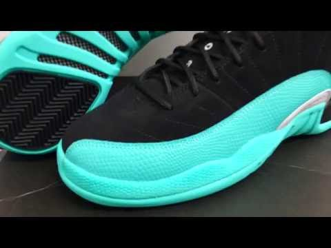 0c0164e931b0 Air Jordan Retro 12 Hyper Jade Early Look - YouTube