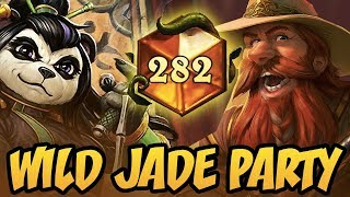 Wild Jade Party | Rastakhan's Rumble | Hearthstone
