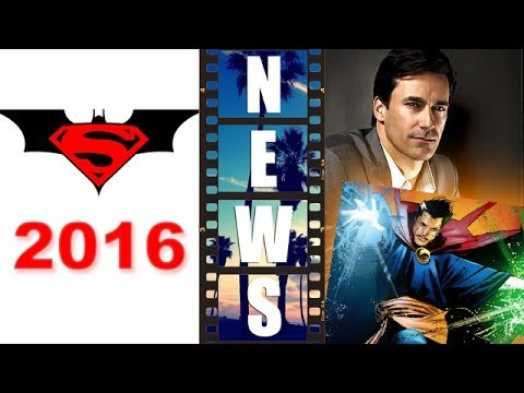 Batman Superman 2016 vs Jon Hamm as Dr Strange 2016?! - Beyond The Trailer