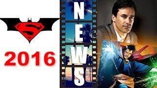Batman Superman 2016 vs Jon Hamm as Dr Strange 2016?! - Beyond The Trailer