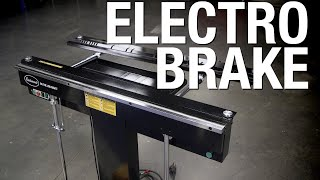 Electro-Brake Sheet Metal Brake - How to Use a Magnetic Brake & Fabricate a Box - Eastwood