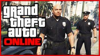 Угон Машины у Полиции ➤ Побег из Тюрьмы - Участок (Ограбления Heist) в GTA 5 ONLINE