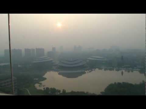 Hangzhou 杭州 - 體育公園水池 day 7 - 2 ( China )