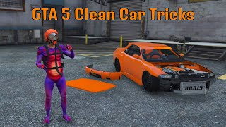 GTA 5 Bumper and Hood Removal Glitch+Stance Parking