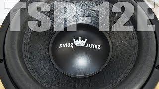 нОВЫЙ сабвуфер 800Ватт! Kingz Audio TSR-12E. Обзор. Распаковка