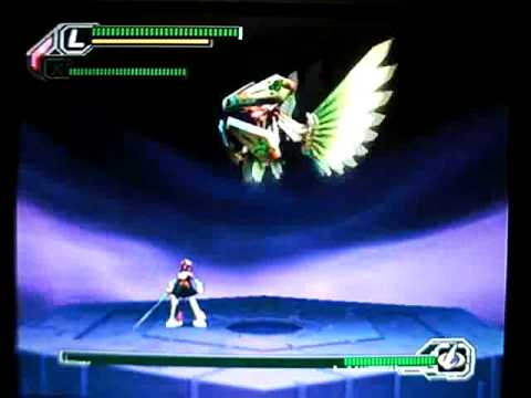 Megaman X8 - Layer vs. Final Boss Lumine (Hard; Solo run; No ...