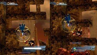 ABM: Sonic Vs Shadow on Sonic The Hedgehog 2006 Gameplay Match!! HD