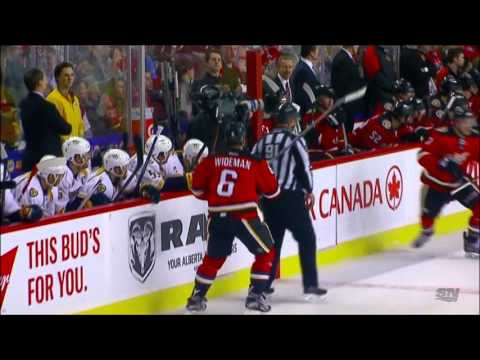 NHL Dennis Wideman 20 game suspension & $500.000 Fine. Feb. 2, 2015 HD