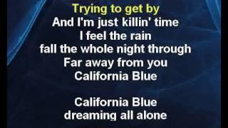 California Blue - Roy Orbison Karaoke tip