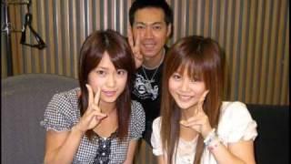 2007年8月2日 Aug.2,2007 Radio program Niigaki Risa & Kamei Eri.