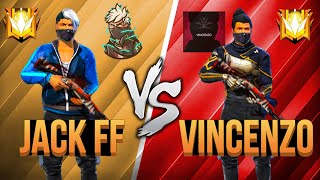 Freefire : OP JACK  ⚔️ VINCENZO 🇦🇱 VS 🇲🇦 | CRAZY GAMEPLAY 👽