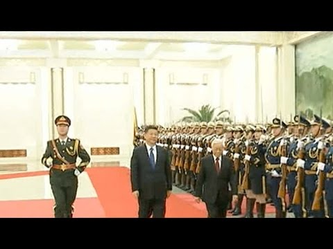 China's President Xi meets Vietnam's Communist Party chief in Beijing