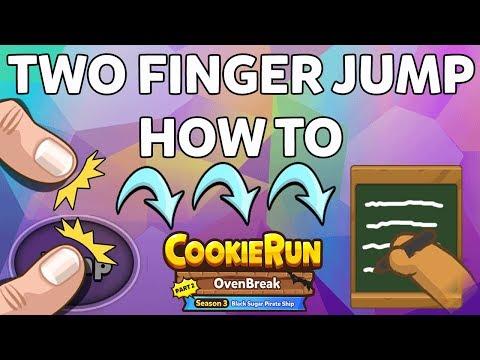 CROB Two Finger C Jump TRICK Cookie Run Ovenbreak