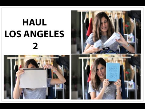 Shopping HAUL LOS ANGELES Parte 2