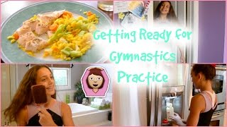 How I Get Ready for Gymnastics Practice