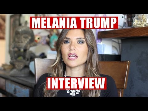 MELANIA TRUMP  On Her LIFE, MARRIAGE and 2016  Steph Barkley