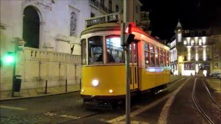 Lisbon trams - Lissabon Straßenbahn - Lisboa Carris - tramway - villamos