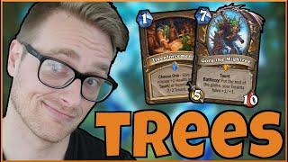 TREANT Druid FINALLY VIABLE? (🌳I Speak for the TREES! 🌳) | Descent of Dragons | Wild Hearthstone