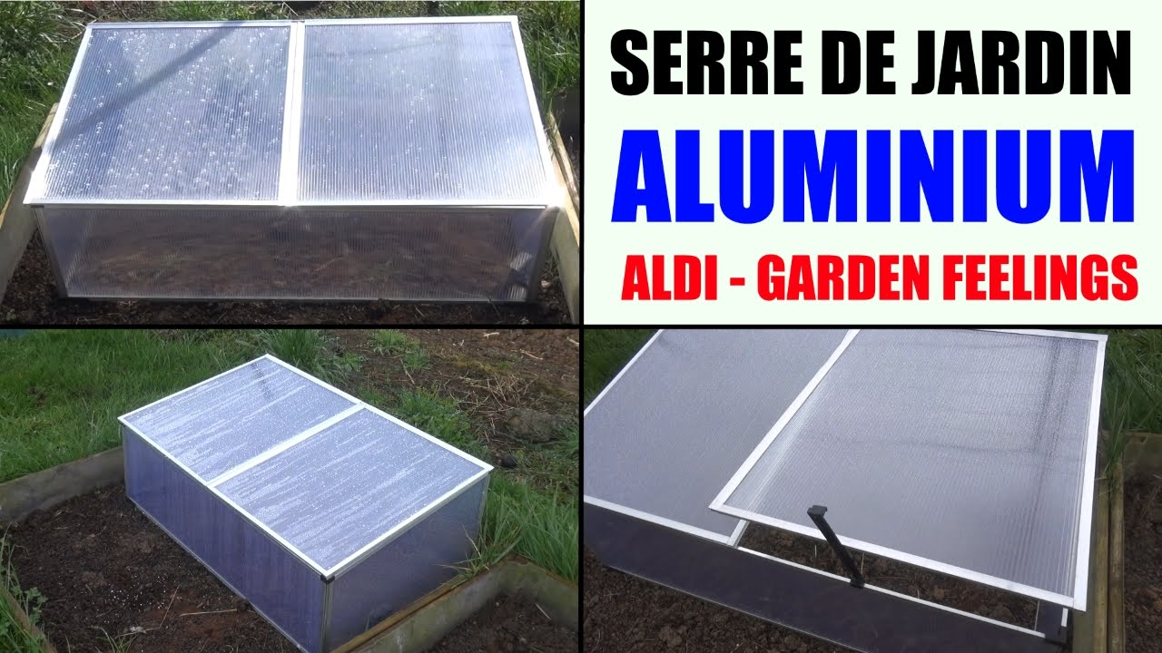 serre de jardin aluminium aldi garden feelings presentation et test de temp rature youtube. Black Bedroom Furniture Sets. Home Design Ideas