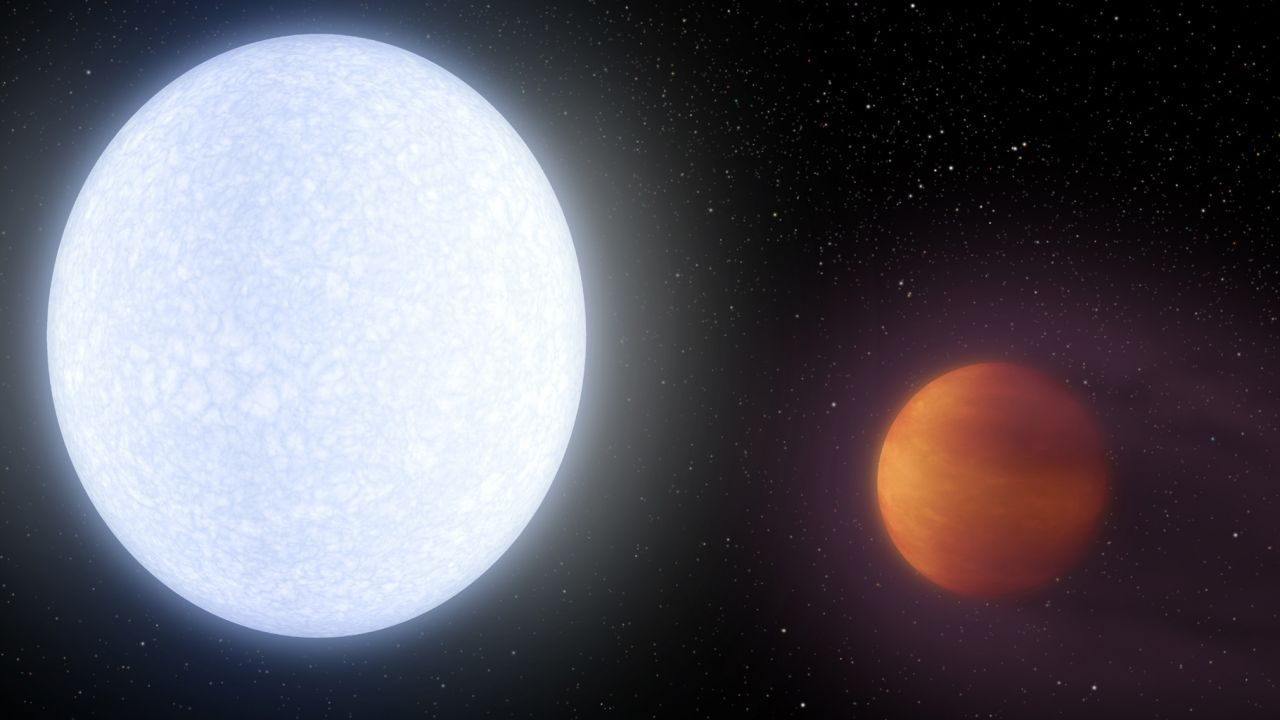 Newly Discovered Planet Is Hotter than Most Stars