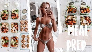 One of Christie Swadling's most viewed videos: My everyday MEAL PREP | High protein IBS friendly