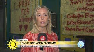 """Jätteorkan på väg mot USA: """"Liknar en spökstad""""  - Nyhetsmorgon (TV4)"""