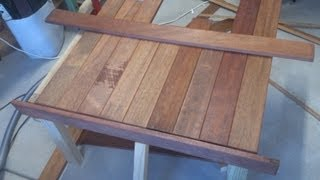 S&scustoms-woodwork Build A Coffee Table Using Scrap Wood Part 3