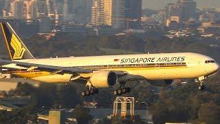 The BEST HEAVY Landing was.. | Landings A380 B747 B777 | Sydney Airport Plane Spotting