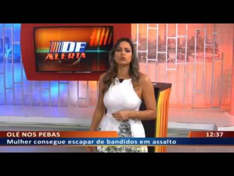 DF ALERTA -  Cliente esfaqueia garçom e alega rixa por causa de mulher